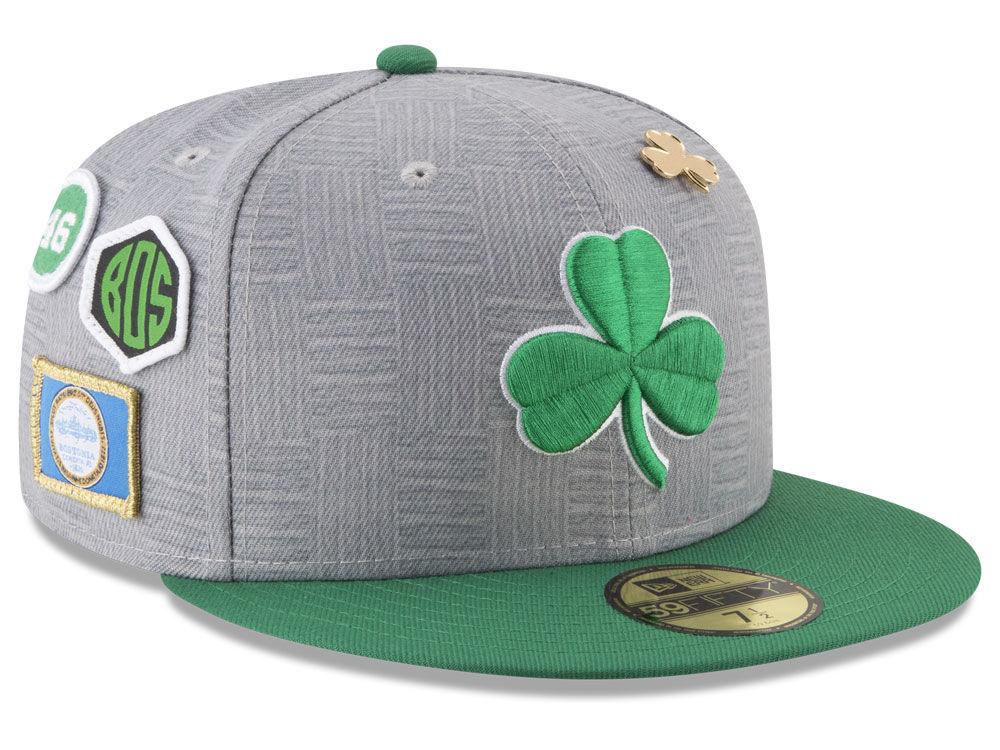 6bce0566947 Boston Celtics New Era NBA City On-Court 59FIFTY Cap