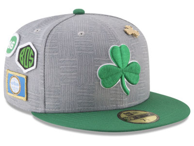 Boston Celtics New Era NBA City On-Court 59FIFTY Cap
