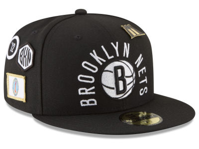 7dda60cbf23 Brooklyn Nets New Era NBA City On-Court 59FIFTY Cap