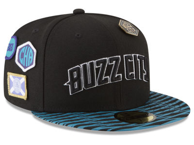 Charlotte Hornets New Era NBA City On-Court 59FIFTY Cap