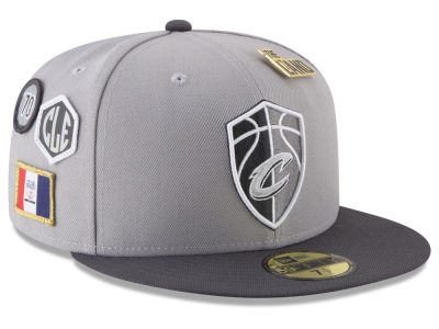 Cleveland Cavaliers New Era NBA City On-Court 59FIFTY Cap