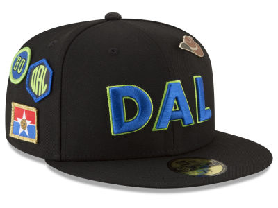 Dallas Mavericks New Era NBA City On-Court 59FIFTY Cap