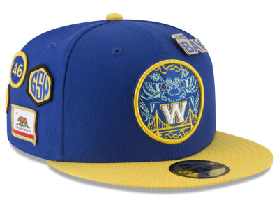 Golden State Warriors New Era NBA City On-Court 59FIFTY Cap