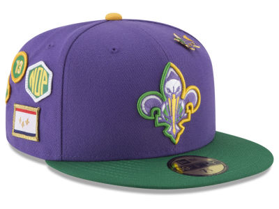 New Orleans Pelicans New Era NBA City On-Court 59FIFTY Cap