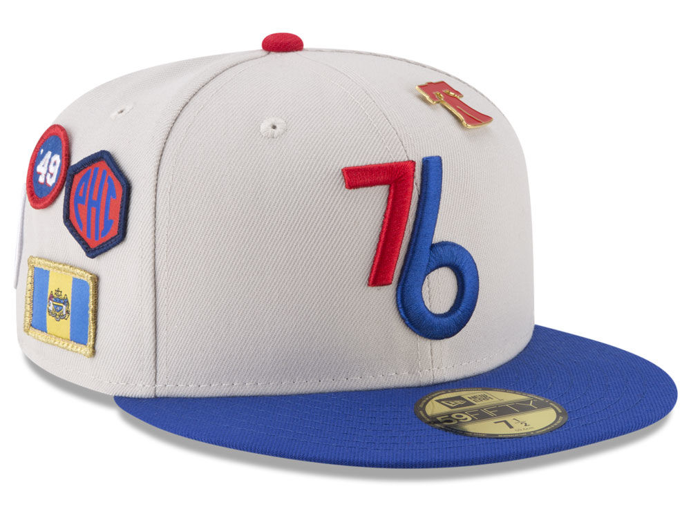 a7455846139 Philadelphia 76ers New Era NBA City On-Court 59FIFTY Cap