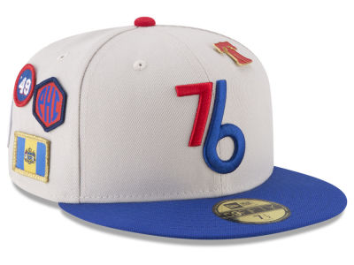 Philadelphia 76ers New Era NBA City On-Court 59FIFTY Cap 3732d155cb01