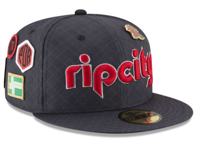 Portland Trail Blazers New Era NBA City On-Court 59FIFTY Cap