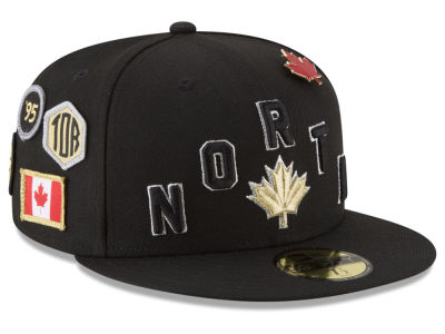 Toronto Raptors New Era NBA City On-Court 59FIFTY Cap