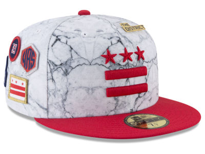 Washington Wizards New Era NBA City On-Court 59FIFTY Cap