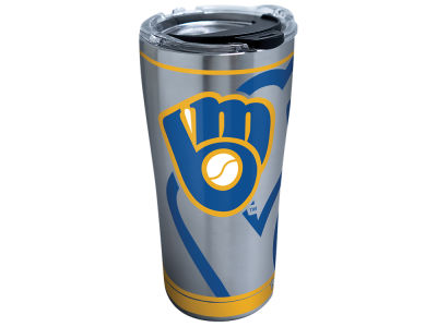 Milwaukee Brewers Tervis 20oz Genuine Stainless Steel