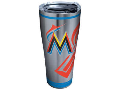 Miami Marlins Tervis 30oz. Genuine Stainless Steel
