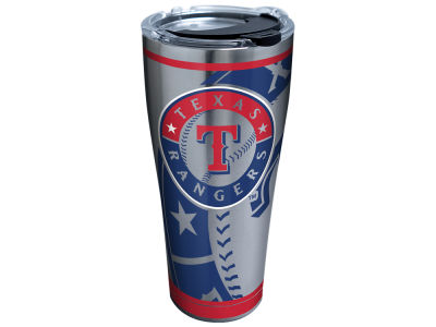 Texas Rangers Tervis 30oz. Genuine Stainless Steel