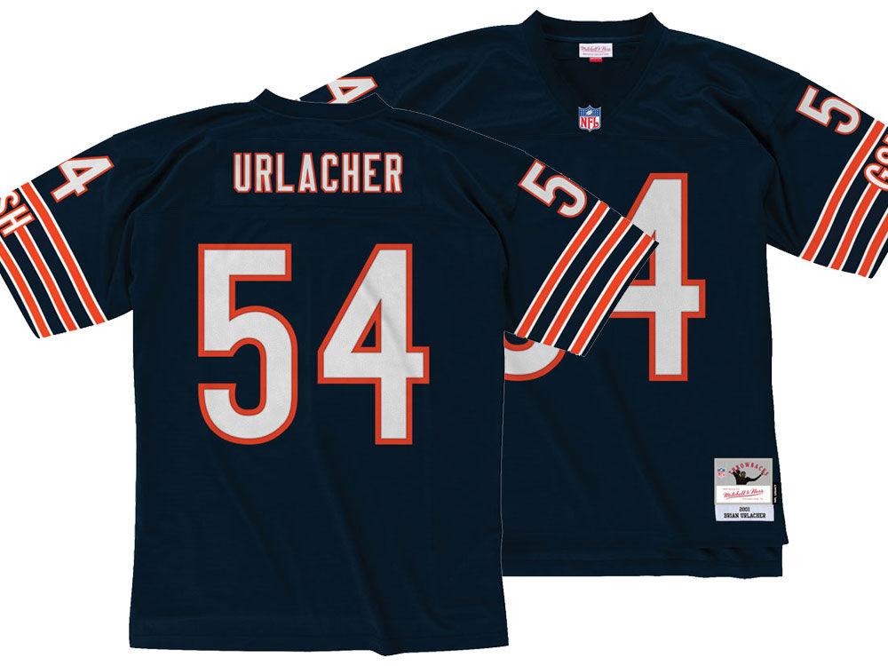 Chicago Bears Brian Urlacher Mitchell   Ness NFL Replica Throwback Jersey  5e1fe0343