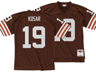 Cleveland Browns Bernie Kosar Mitchell & Ness NFL Replica Throwback Jersey