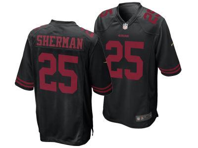 San Francisco 49ers Richard Sherman Nike NFL Men s Game Jersey ef7264dd8