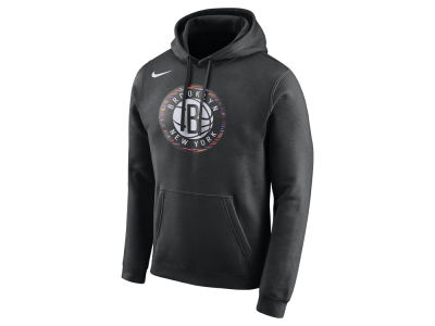 Brooklyn Nets Nike NBA Men's City Club Fleece Hoodie