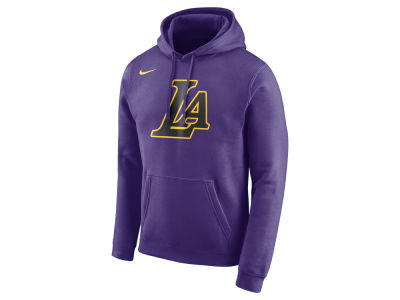 Los Angeles Lakers Nike NBA Men's City Club Fleece Hoodie