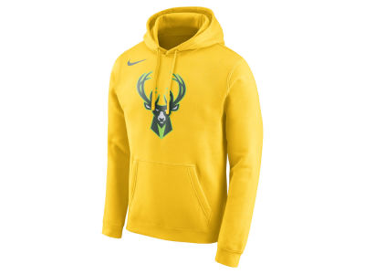 Milwaukee Bucks Nike NBA Men's City Club Fleece Hoodie