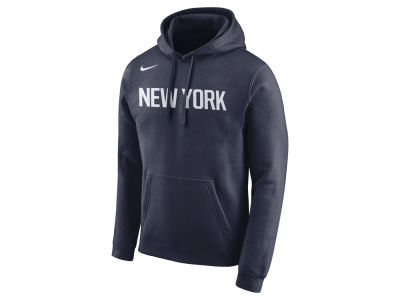 New York Knicks Nike NBA Men s City Club Fleece Hoodie 564df96b9