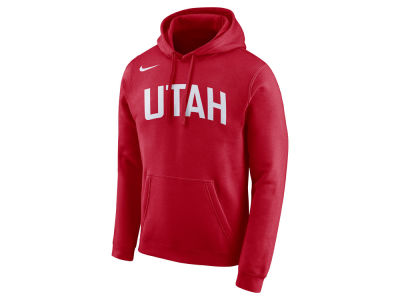Utah Jazz Nike NBA Men's City Club Fleece Hoodie