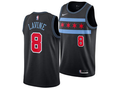 Chicago Bulls ZACH LAVINE Nike 2018 NBA Men's City Swingman Jersey