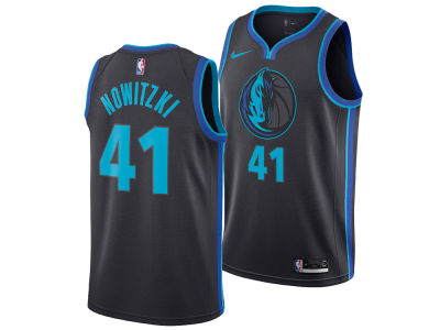 Dallas Mavericks DIRK NOWITZKI Nike 2018 NBA Men's City Swingman Jersey