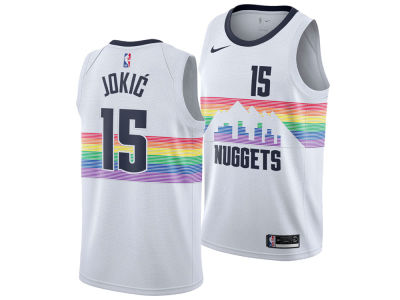 Denver Nuggets NIKOLA JOKIC Nike 2018 NBA Men's City Swingman Jersey