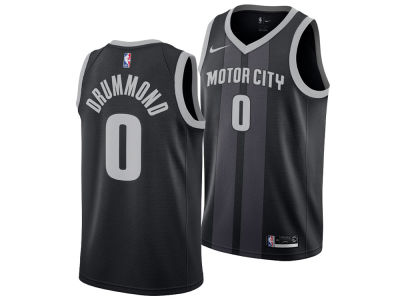 Detroit Pistons ANDRE DRUMMOND Nike 2018 NBA Men's City Swingman Jersey