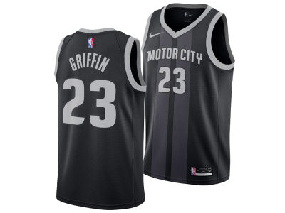Detroit Pistons BLAKE GRIFFIN Nike 2018 NBA Men s City Swingman Jersey 8440c1a04