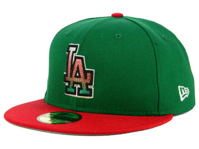 Los Angeles Dodgers New Era MLB Mexico Pack 59FIFTY Cap