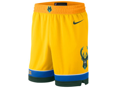 Milwaukee Bucks Nike 2018 NBA Men's City Swingman Short