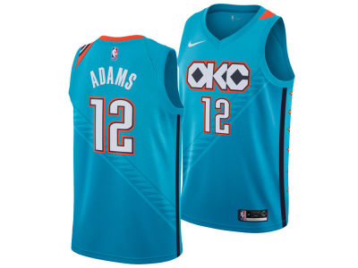 Oklahoma City Thunder STEVEN ADAMS Nike 2018 NBA Men's City Swingman Jersey