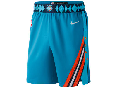 Oklahoma City Thunder Nike 2018 NBA Men's City Swingman Short
