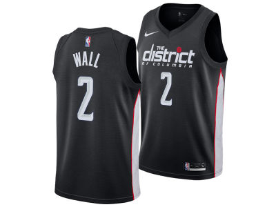 Washington Wizards JOHN WALL Nike 2018 NBA Men's City Swingman Jersey