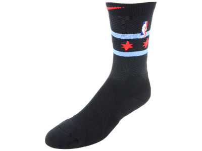 Chicago Bulls Nike NBA City Edition Elite Crew Socks