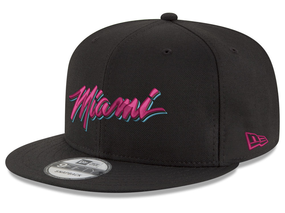 New Era Snapback Cap Draft Miami 9fifty Nba Heat Cus 7AqWBwRf