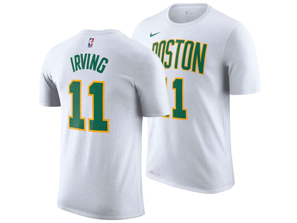 Boston Celtics Kyrie Irving Nike 2018 NBA Men s City Player T-shirt ... c2c024825