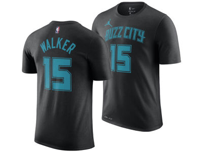 Charlotte Hornets Kemba Walker Nike 2018 NBA Men's City Player T-shirt