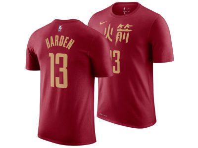 Houston Rockets James Harden Nike 2018 NBA Men's City Player T-shirt