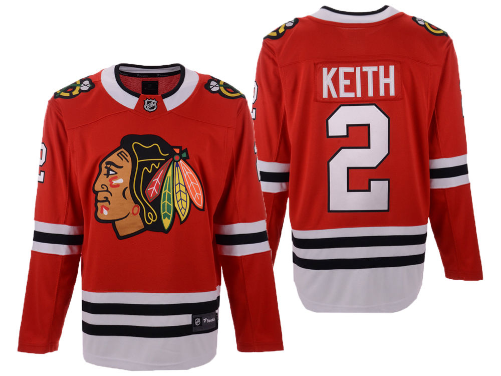 Chicago Blackhawks Duncan Keith NHL Branded NHL Men s Breakaway Player  Jersey  a727f10d4