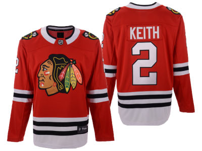 Chicago Blackhawks Duncan Keith NHL Branded NHL Men's Breakaway Player Jersey