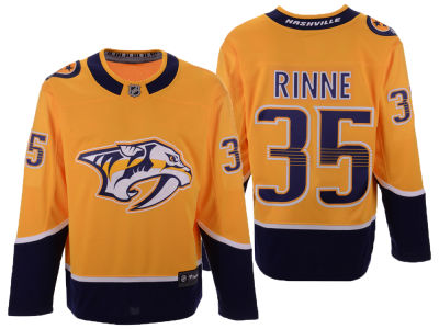 Nashville Predators Pekka Rinne NHL Branded NHL Men's Breakaway Player Jersey