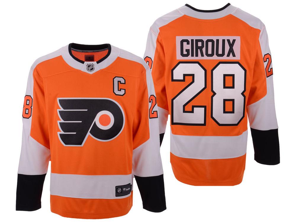 349f0a880 Philadelphia Flyers Claude Giroux NHL Branded NHL Men s Breakaway Player  Jersey