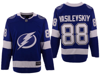 Tampa Bay Lightning Andrei Vasilevskiy NHL Branded NHL Men's Breakaway Player Jersey