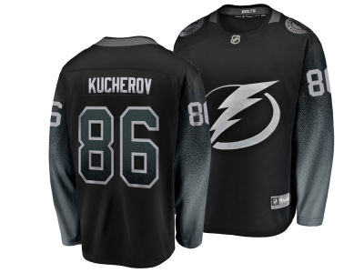 Tampa Bay Lightning Nikita Kucherov NHL Branded NHL Men s Breakaway Player  Jersey 0f08168f3