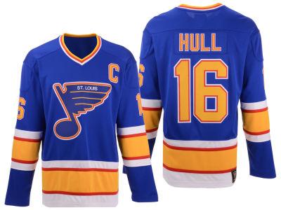 St. Louis Blues Brett Hull NHL Branded NHL Men's Heritage Breakaway Jersey
