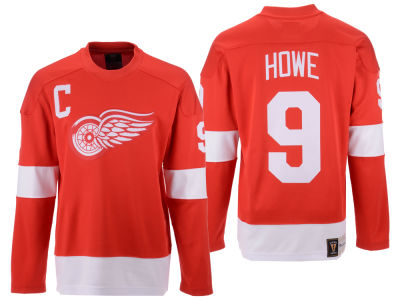 Detroit Red Wings Gordie Howe NHL Branded NHL Men's Heritage Breakaway Jersey