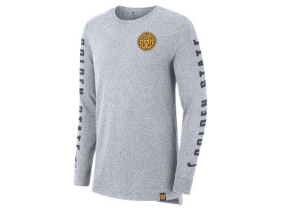 Golden State Warriors Nike NBA Men's City Elevated Long Sleeve Dry T-Shirt