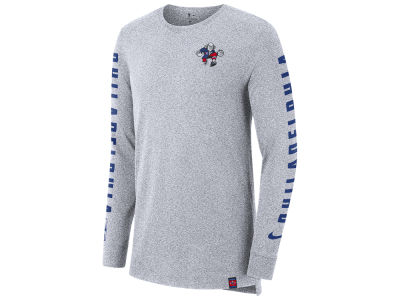 Philadelphia 76ers Nike NBA Men's City Elevated Long Sleeve Dry T-Shirt