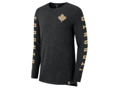 Toronto Raptors Nike NBA Men's City Elevated Long Sleeve Dry T-Shirt